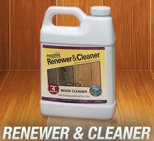 Preserva Wood Renewer & Cleaner